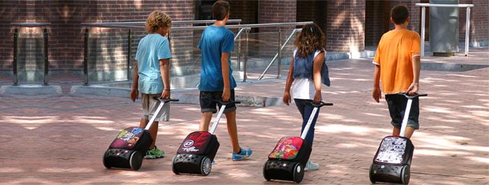 Рюкзак на колесах Nikidom Испания Кул Блю арт. 9017 (19 литров), - фото 18