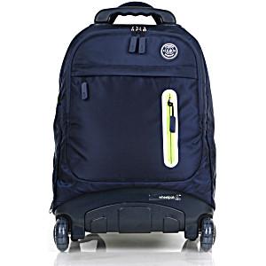 Школьный рюкзак на колесах – ранец Wheelpak Base Navy – арт. WLP2175 (для 3-5 класса, 21 литр)