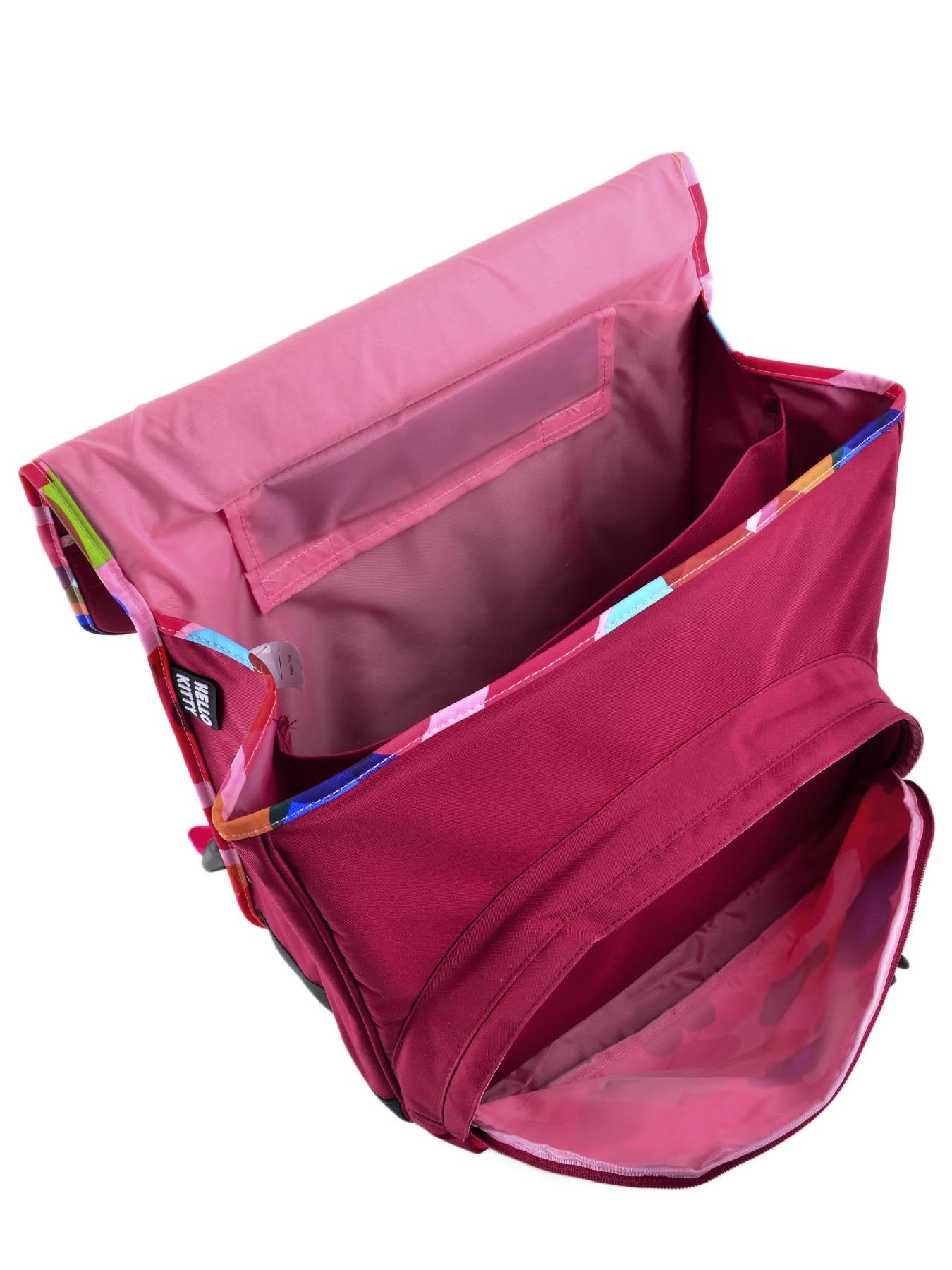 Школьный портфель на колесах Hello Kitty арт. HPS23070R, - фото 8
