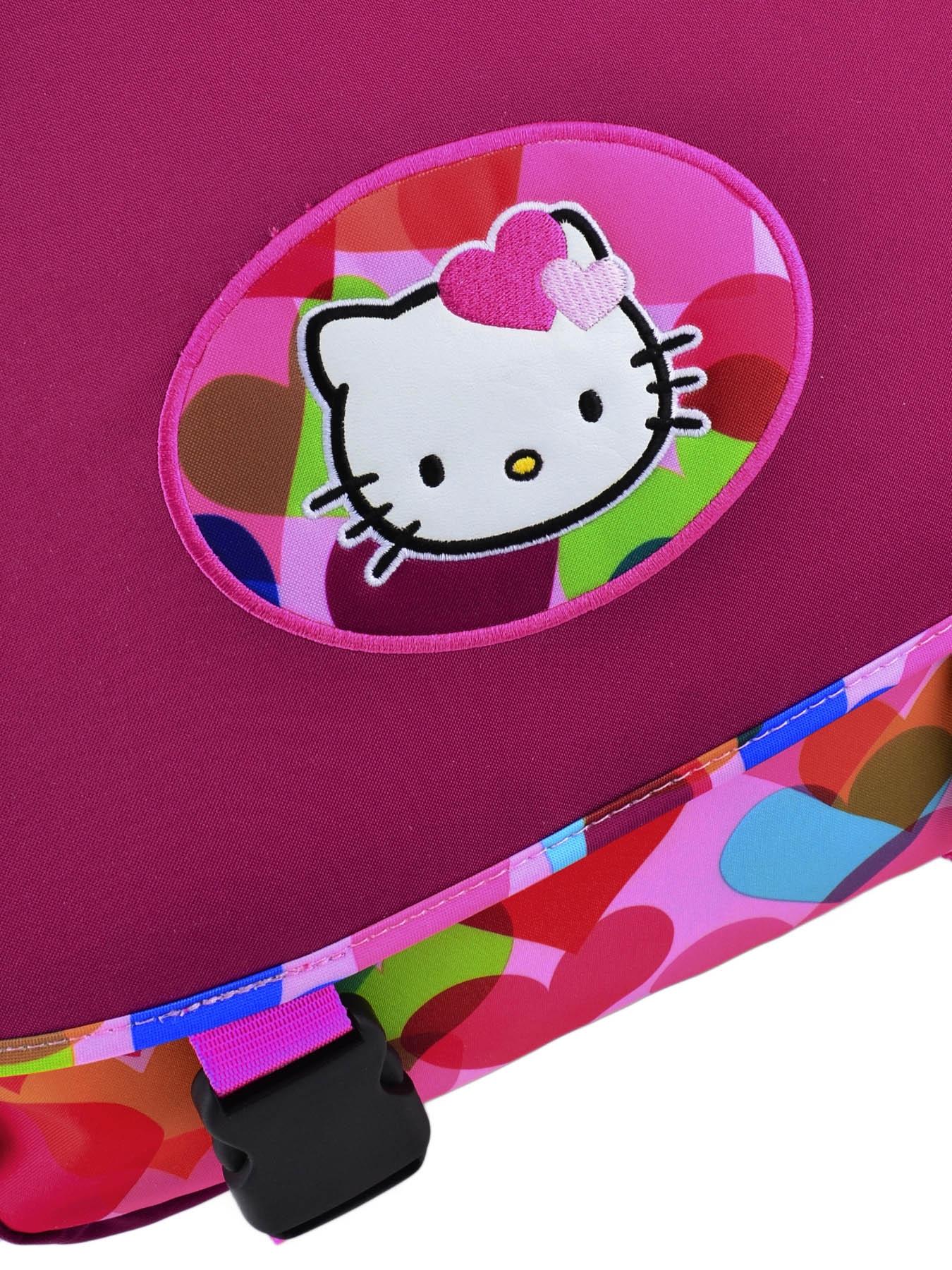 Школьный портфель на колесах Hello Kitty арт. HPS23070R, - фото 3