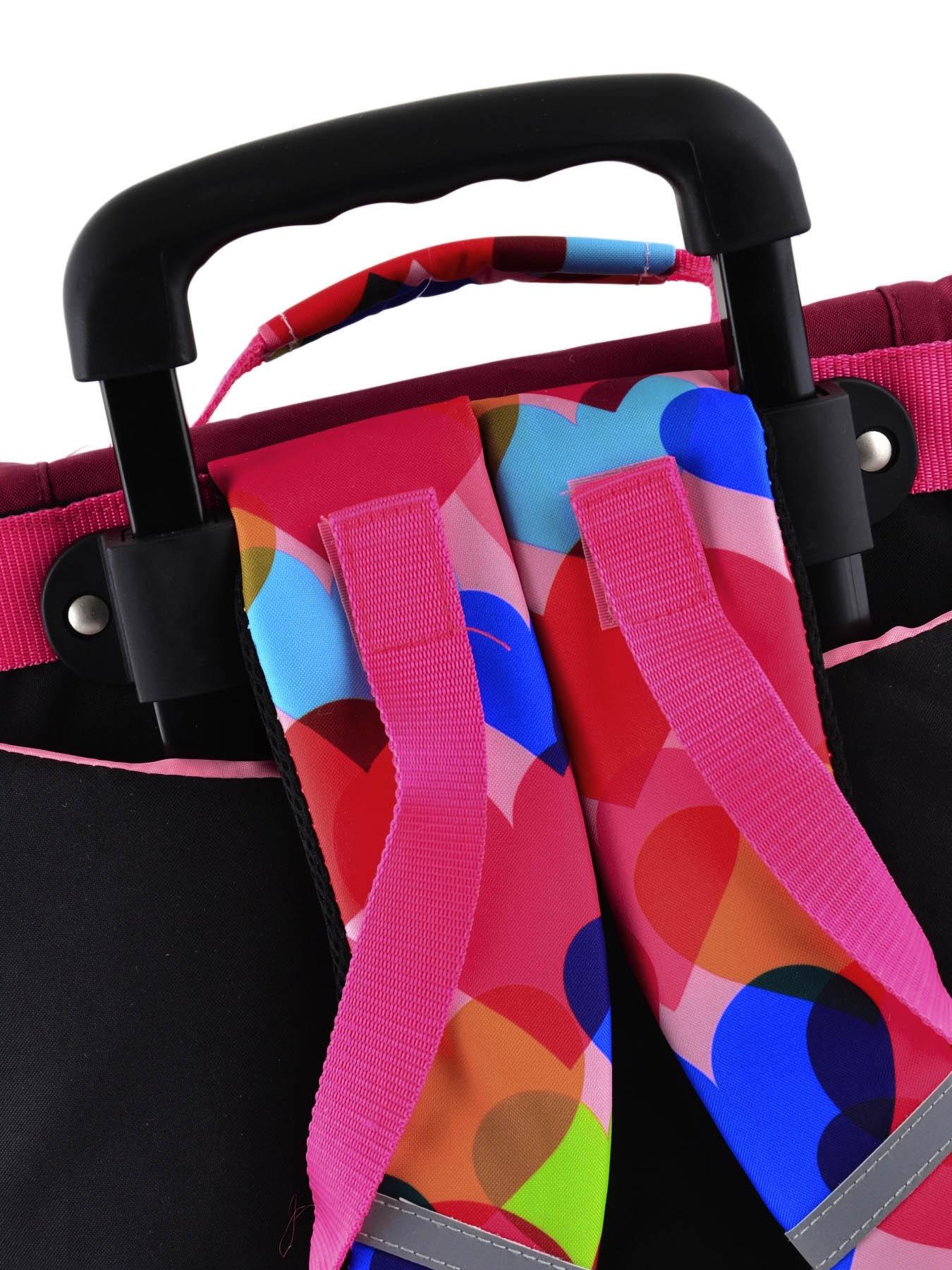 Школьный портфель на колесах Hello Kitty арт. HPS23070R, - фото 6