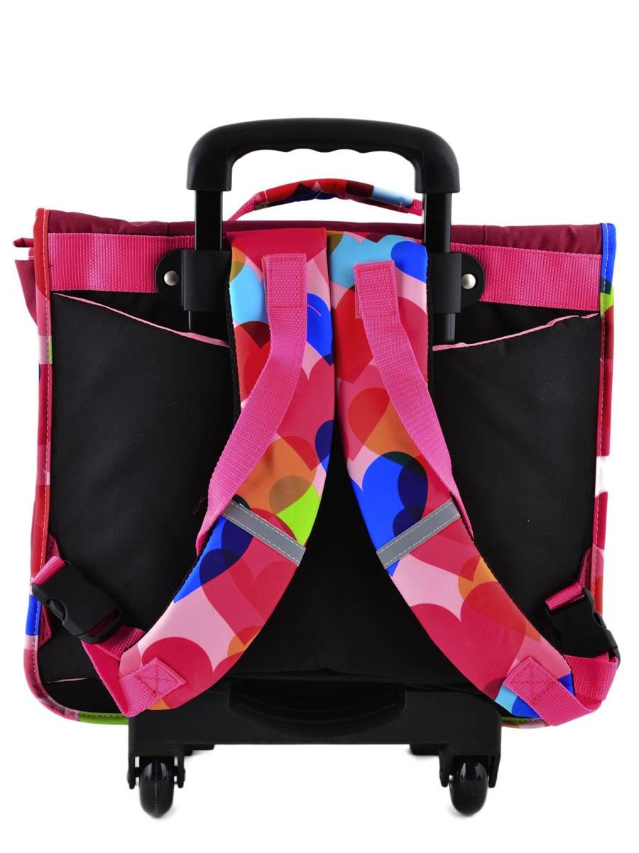 Школьный портфель на колесах Hello Kitty арт. HPS23070R, - фото 7