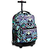 Универсальный школьный рюкзак на колесах JWORLD Sunrise арт. RBS18 Zega