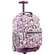 Универсальный школьный рюкзак на колесах JWORLD Sunrise арт. RBS18 Лимон