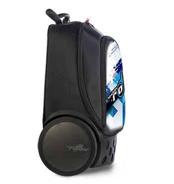 Рюкзак на колесах Nikidom Испания Кул Блю арт. 9017 (19 литров), - фото 3