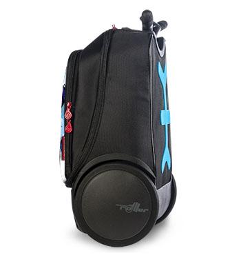 Рюкзак на колесах Nikidom Испания Кул Блю арт. 9017 (19 литров), - фото 9