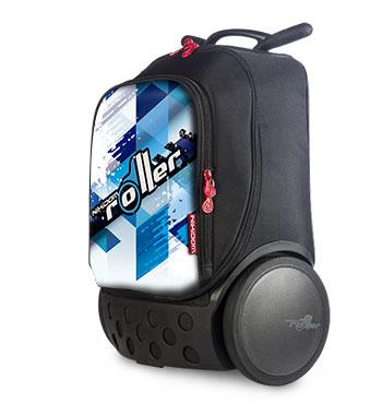 Рюкзак на колесах Nikidom Испания Кул Блю арт. 9017 (19 литров), - фото 11