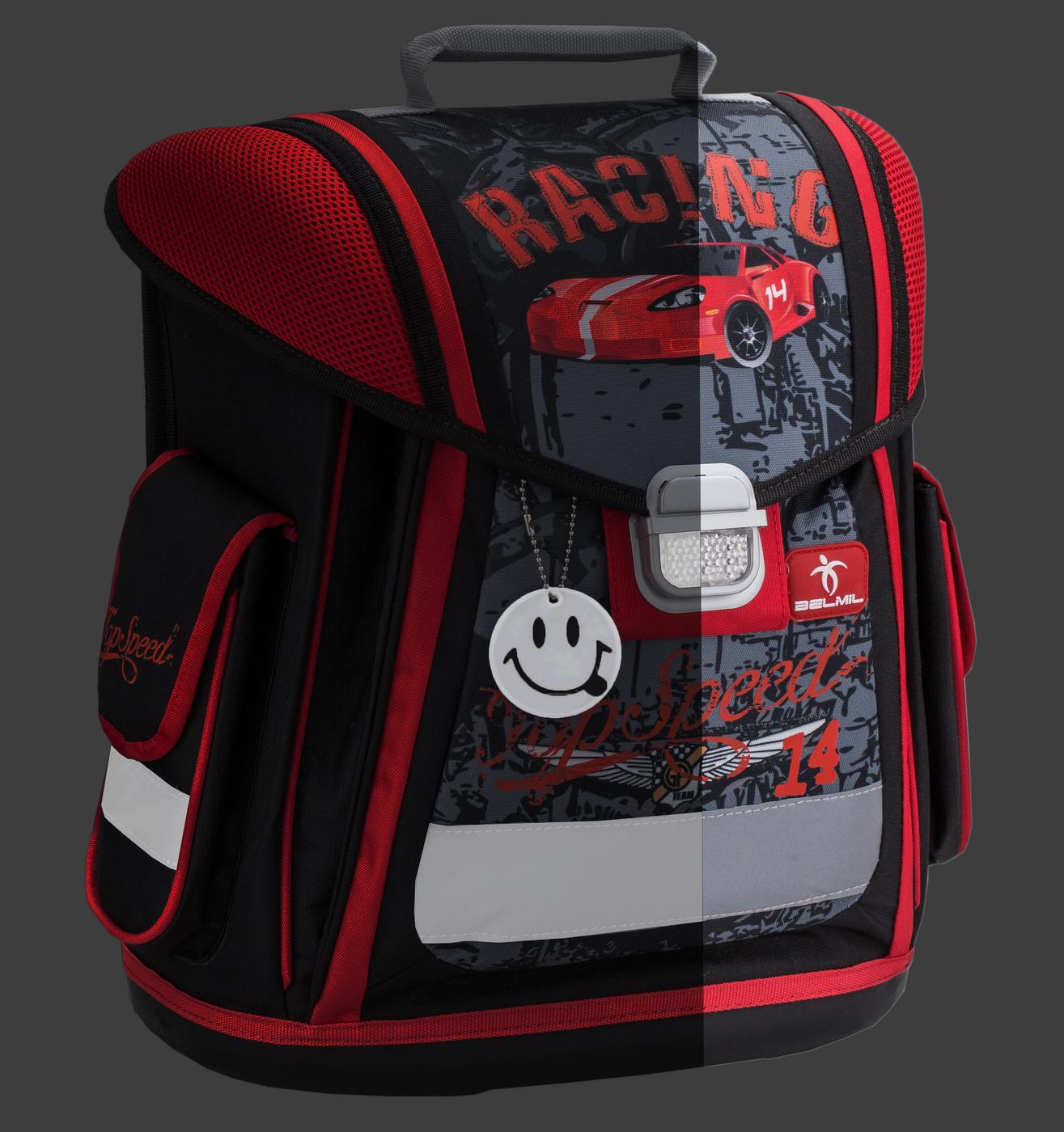 Ранец Belmil Футбольный Клуб 404 5 Football Club Red + мешок, - фото 10
