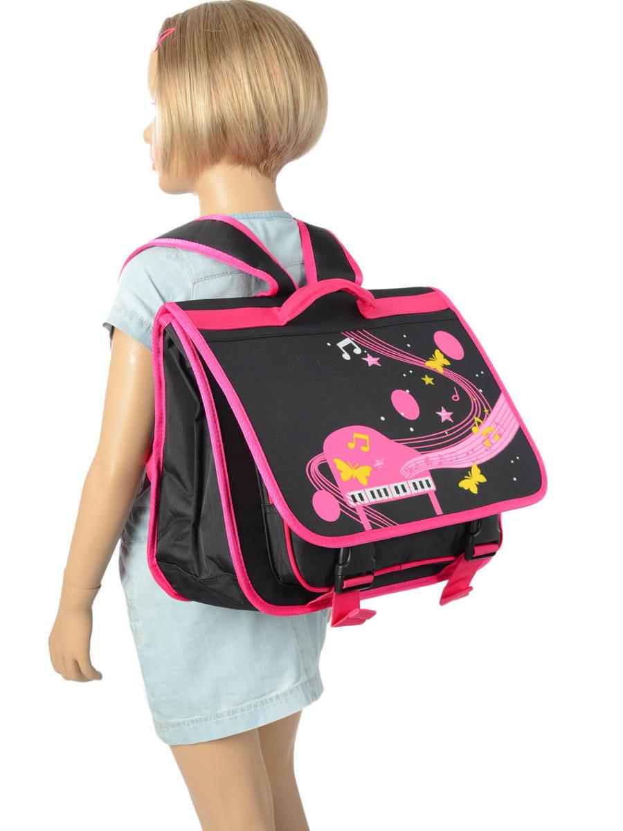Портфель для музыкальной школы для девочки Розовое Пианино, - фото 5