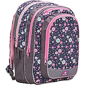 Школьный рюкзак для подростка девочки Belmil 338 49 THE SPACIOUS Colorful Flowers