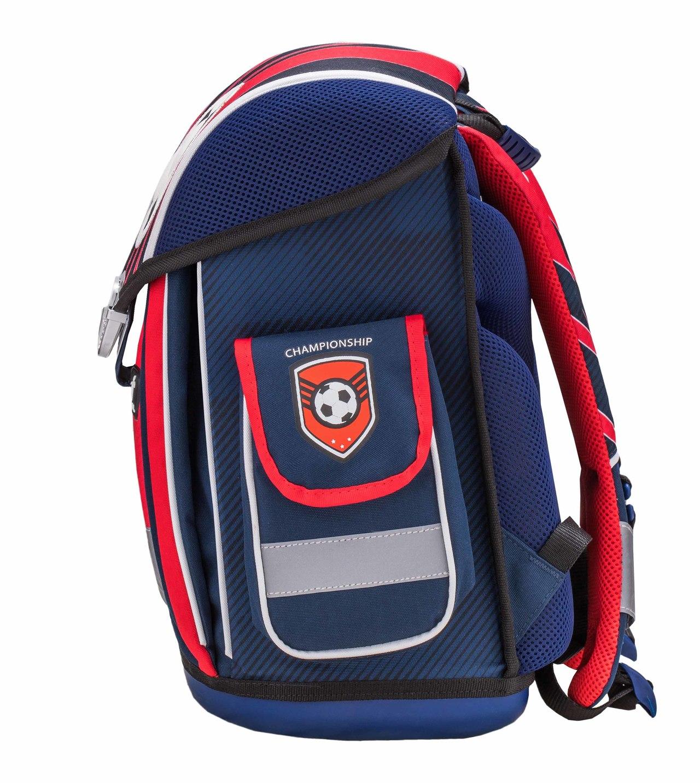 Ранец Belmil Футбольный Клуб 404 5 Football Club Red + мешок, - фото 5