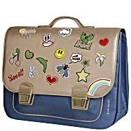 Школьный портфель для девочки Jeune Premier GOLDFUN Золото Maxi